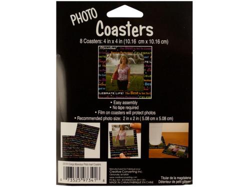 Celebrate Life Photo Coasters
