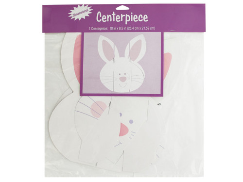 Dimensional Bunny Centerpiece