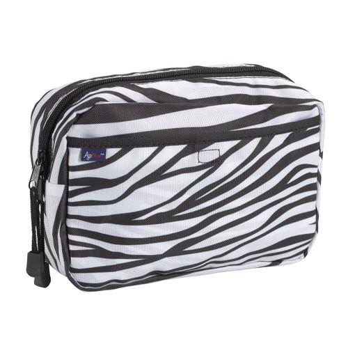 AgeWise Walker Rollator Caddy, Zebra