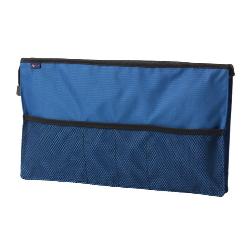 AgeWise Walker Rollator Front Organizer with Mesh, Blue