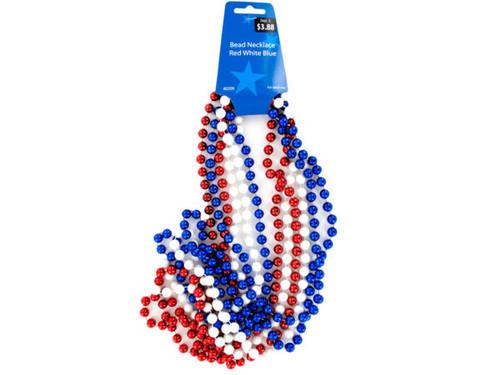 Patriotic Beaded Necklace Set