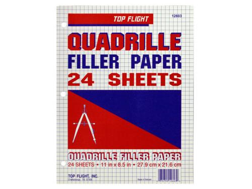 Quadrille Filler Paper