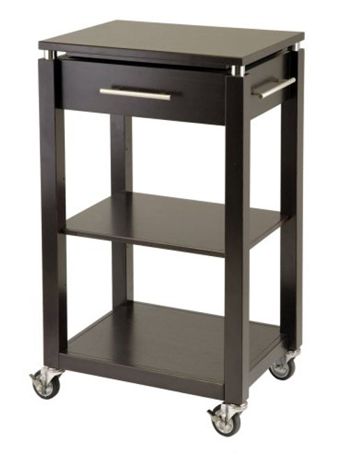 Winsome Wood Linea Kitchen Cart
