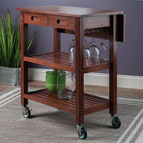 Winsome Wood Jonathan Kitchen Cart