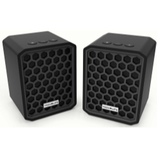 BeatBlock Twins- Stereo Pairing Bluetooth Speakers