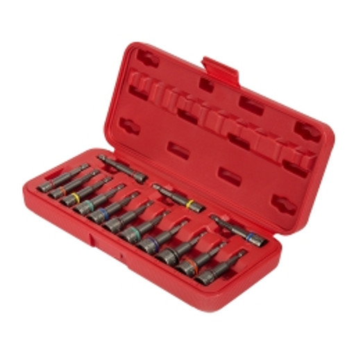 14 Piece Impact Ready Magnetic Nut Setters Set (Metric, SAE)