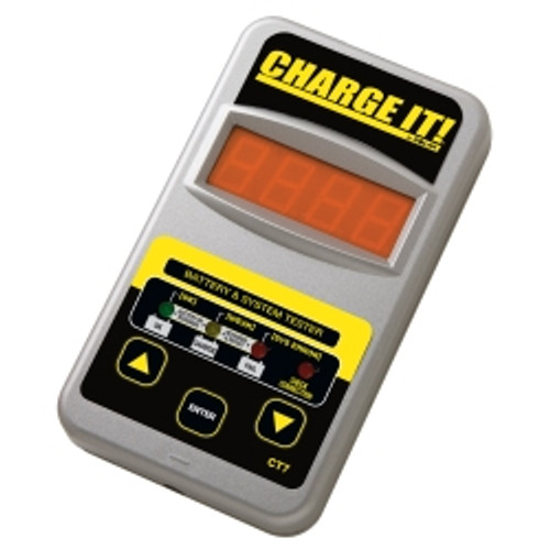 12 Volt Charge It!® Digital Battery and System Tester