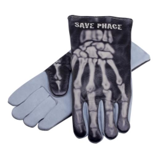 """""""Bones"""" Welding Gloves, Size XL"""