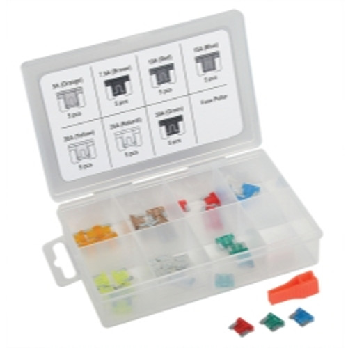36 Piece Low Profile Mini Fuse Assortment