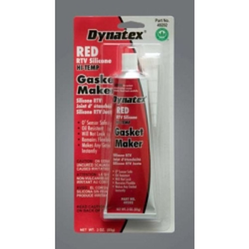 Red - High Temp RTV Silicone Gasket Maker L/V 3oz. Tube