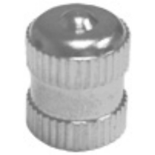Long Metal Dome Tire Valve Cap With Seal (100 Per Box)