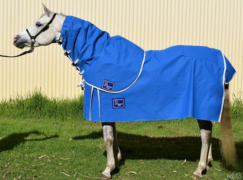 Winter Lined Canvas Neck Rug