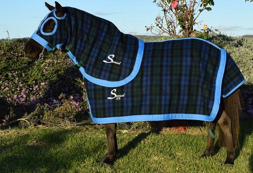 Mini size Kersey Wool Rug and Hood