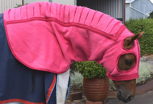 Double Fleece Mane Saver Hood