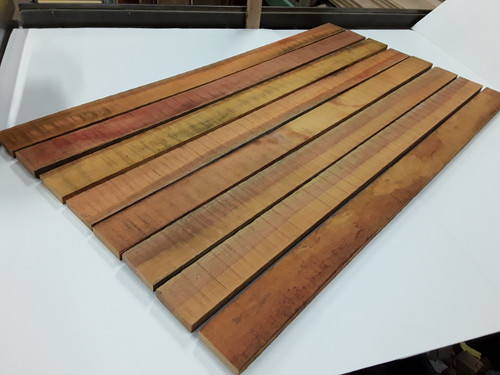 HARDWOOD SAWN AFRICAN TIMBER OPEPE BENCH SLATS / RAILS / CLADDING