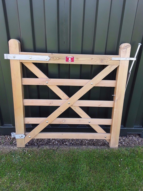 SOFTWOOD 5 BAR FIELD / FARM / DRIVE GATE