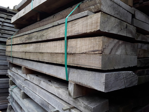 HARDWOOD AIR DRIED SAWN GREENHEART TIMBER SLABS / PLANKS