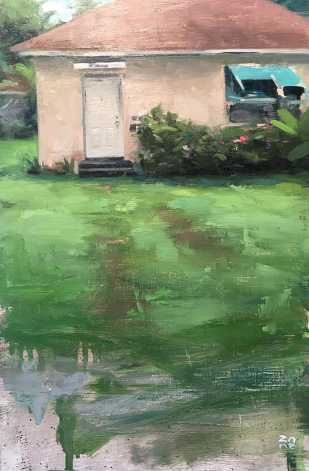 ZP Florida Oil Painting 12X8