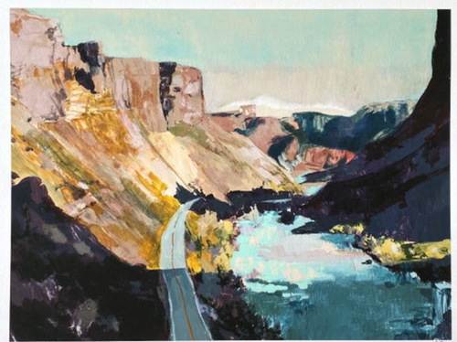 NP Narrowing  of the Canyon 8x10