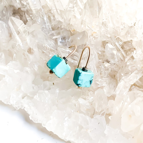 14k gold turquoise