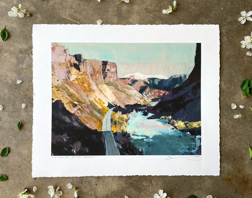 Narrowing of the Canyon 11X14