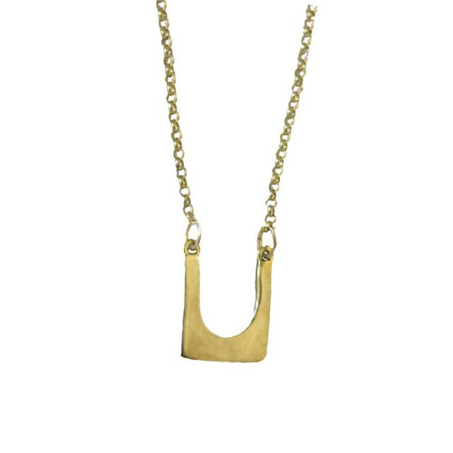 DP Perfectly Imperfect Square Brass