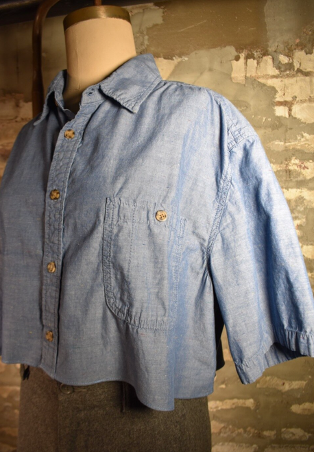 RR Crop Chambray