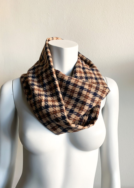 RV Brown and Navy Cowl