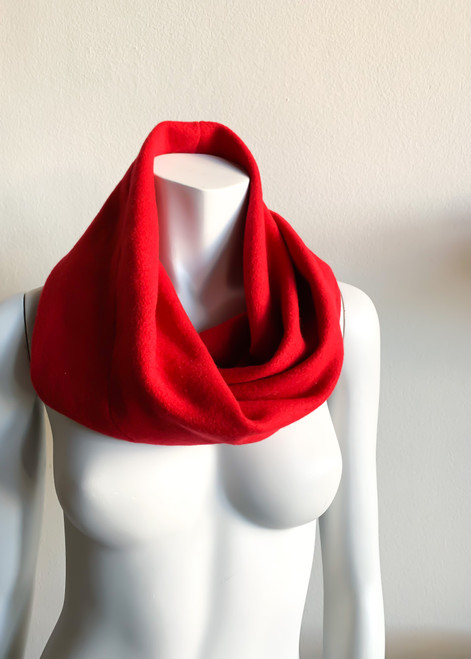 RV Red Wool Cowl