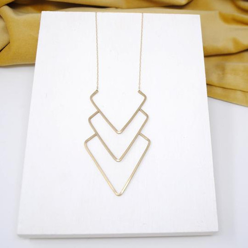 DJ Lifted Layered Necklace