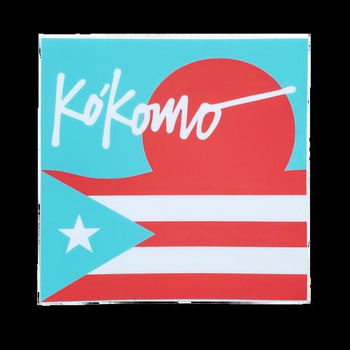 Kókomo Stickers 3x3