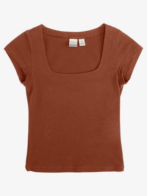 Artsy Cap Sleeve T-shirt