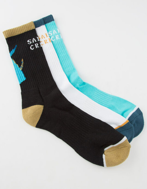 3 Pack Tailed Socks