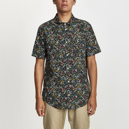 Costello Floral Button Up