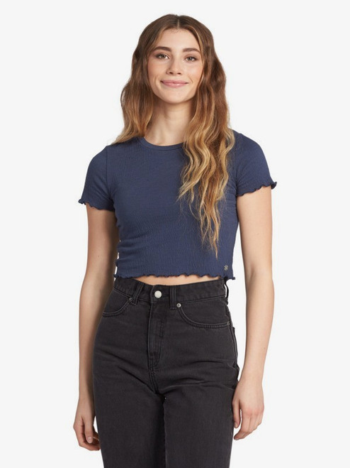 Sunny Side Cropped Lettuce Top