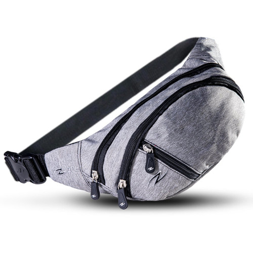 Medium Waist Bag Dark Grey
