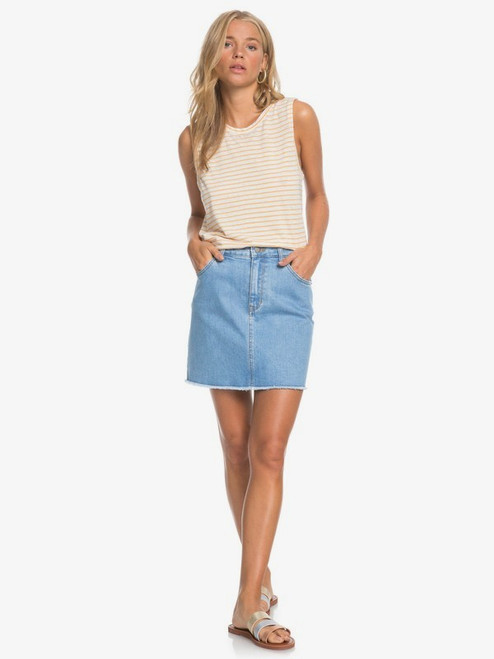 Show Us Love Denim Skirt