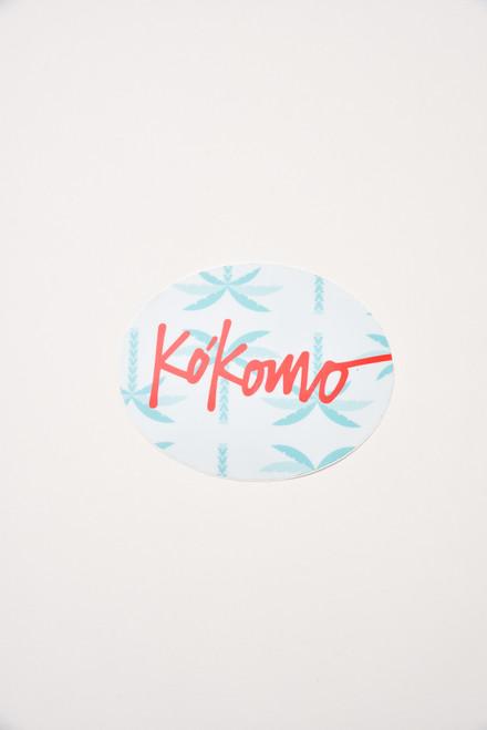 Kókomo Stickers 5X4