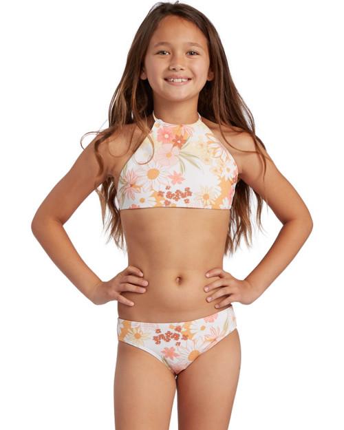 Sunshine High Neck Bikini Set