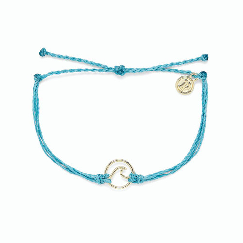 Gold Wave Bracelet