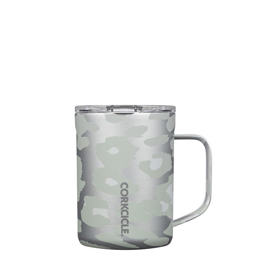 16oz Mug- Snow Leopard