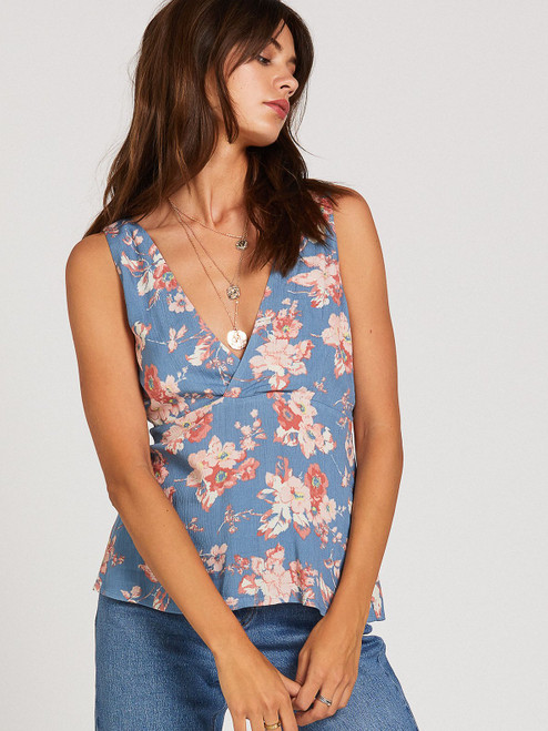 Forget Yoself Floral Cami