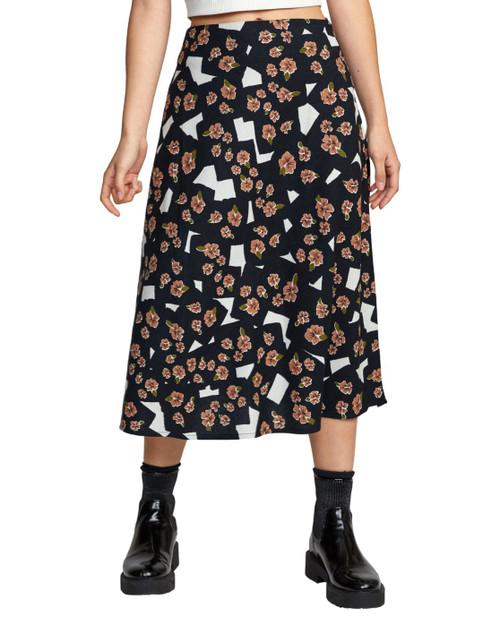 Floral Pop Midi Skirt