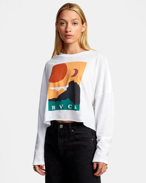 Abstract Horizon L/S Tee