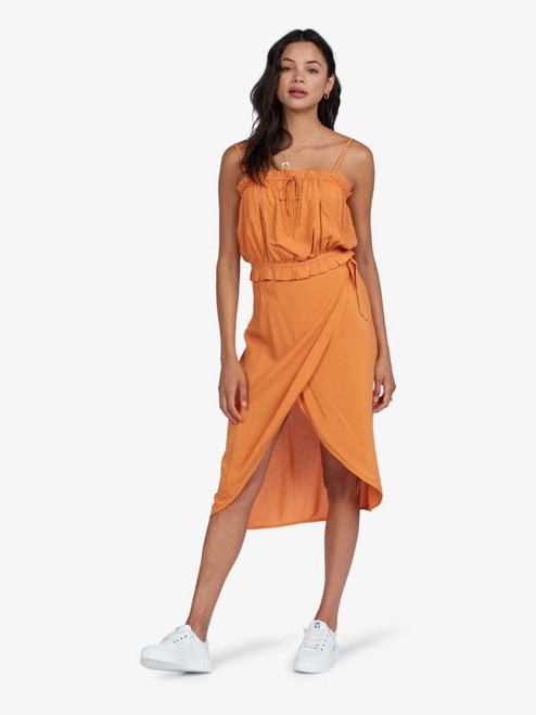 Destiny Waits Midi Wrap Skirt