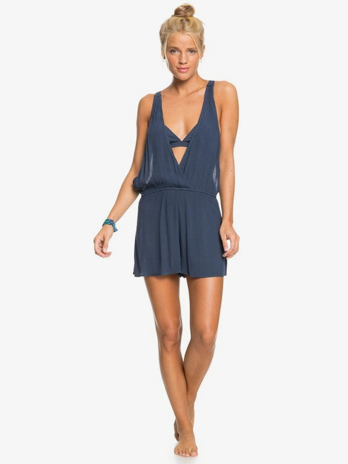 A Girl On The Sand Romper