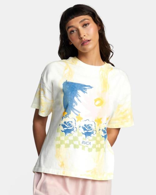 Abstract Dress S/S Tee