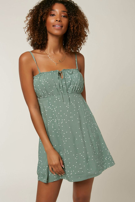 Kaline Dot Dress