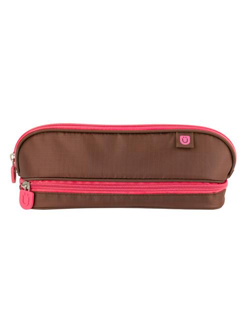 Züca Pencil Case Brown/Pink