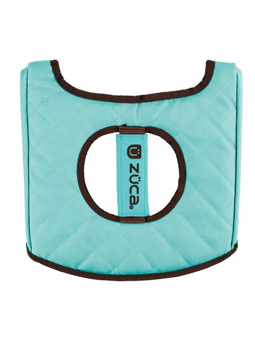 Seat Cushion Turquoise/Brown